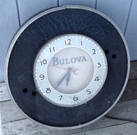 "LARGE 26"" ORIGINAL UNRESTORED NEON CLOCK"