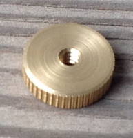 BRASS TIME SET KNOB HANSEN MOVEMENT