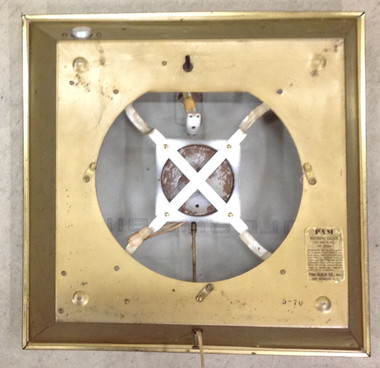 PAM CLOCK MISSING REAR COVER