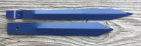 BLUE CLEVELAND CLOCK PINWHEEL SPINNER HANDS