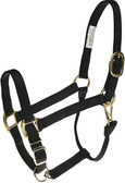 Black Nylon Halter