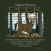 Advice from a Deer t-shirt*