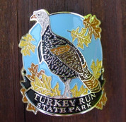 Turkey Run State Park Hiking Stick Medallion*