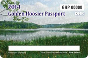 2014 Golden Hoosier Passport (permit)