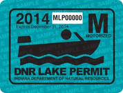 2014 Motorized Lake Permit