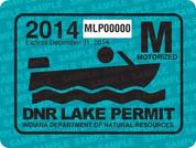 2014 Motorized Lake Permit