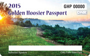 2015 Golden Hoosier Passport (permit)