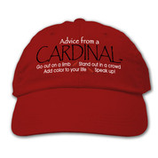 Advice from a Cardinal Hat*
