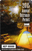 """15 Non Resident State Park Entrance Permit"