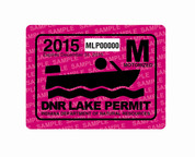 15 Motorized Lake Permit