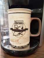 Large mug/stein Etched with the 100 year state park logo.