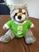 Raccoon Plush w/ 100 Years T-Shirt*