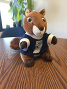 Squirrel Plush w/ 100 Years T-Shirt*