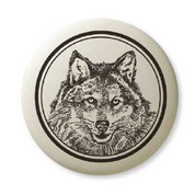 Grey Wolf necklace*