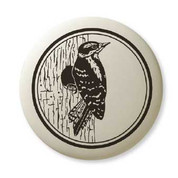 Downy Woodpecker necklace*