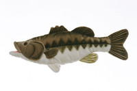 "Plush 10"" Largemouth Bass"