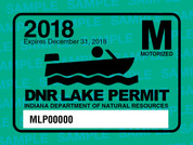 2018 Motorized Lake Permit