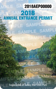 2018 Annual State Park Entrance Permit