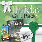 This gift pack offer savings of $16. Additional savings of $25 on your state park entrance permit for those 65 and older and Indiana Residents. $41 total savings. Offer ends 12/31/2017.
