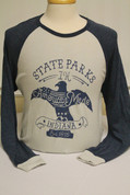 Indiana State Park Eagle Long Sleeve Shirt*