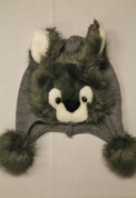 Kids Winter Hat- Grey Wolf*