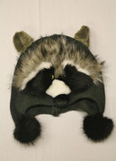Kids Winter Hat- Raccoon*