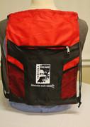 Red Drawstring Bag*