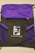 Purple Drawstring Bag*