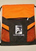 Orange Drawstring Bag*