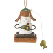 S'mores Ice Fisherman Ornament*