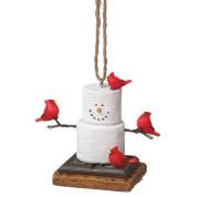 S'mores Cardinal Ornament*