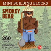 Mini-Building Blocks - Smokey Bear*