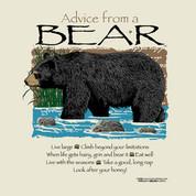 Advice from a Bear  t-shirt*