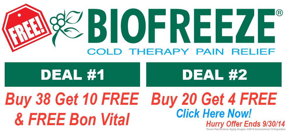 BIOFREEZE SPECIAL Lowest Wholesale Prices!
