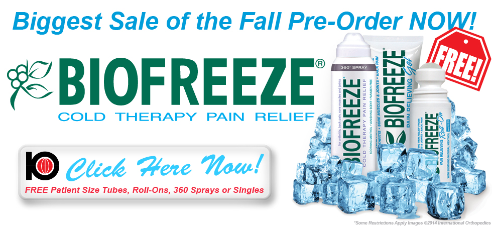 BIOFREEZE SPECIAL Hurry Ends Soon!