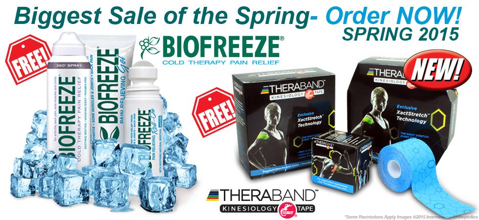 Biofreeze Spring Sale