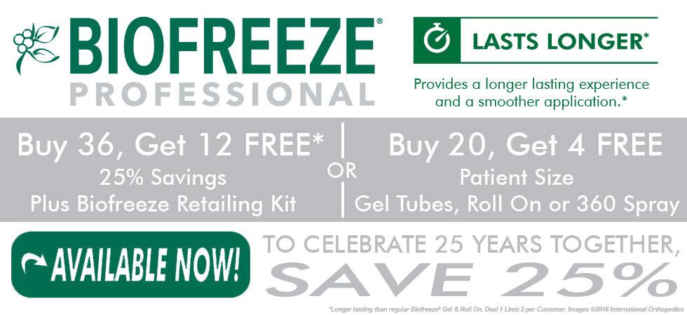 Biofreeze Professional Sale