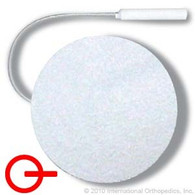 "Classic Stimulating Electrodes with Comfort Foam Construction, 2"" Round"