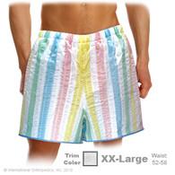 Patient Shorts - 3X-LARGE / Yellow Trim Item# 844S-6