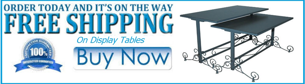 Display Tables Free Shipping
