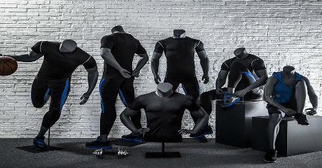 Headless Sports Mannequins