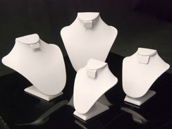 Necklace Stand PU Leather (JW-WH-N1 + N2 + N3 + N4)