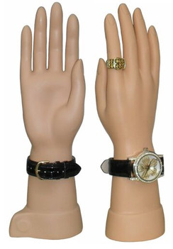 2 Plastic Female Display Hands MM-JW-S02