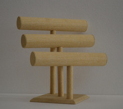 Bracelet Display 3 Bars Linen MM-JW-LN-3BARS