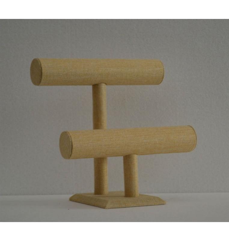 Bracelet Display 2 Bars Linen MM-JW-LN-2BARS