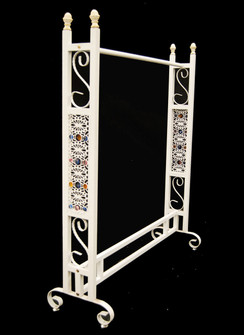 White Boutique Clothing Rack MM-TYWH081