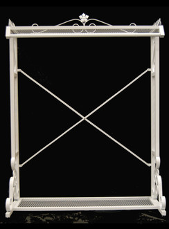 White Boutique Clothing Rack MM-TYWH080