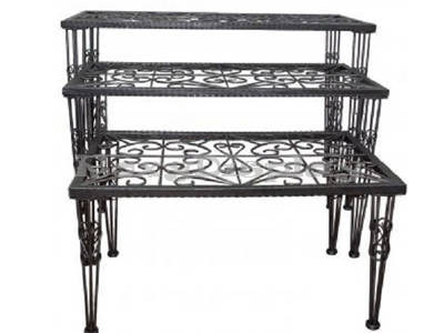 Raw Steel Display Table - Set of 3 (Free Shipping) MM-910A-2