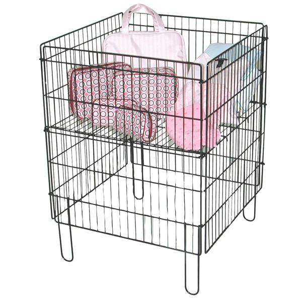 Dump Bin with One Adjustable Bottom Shelf MM-1958