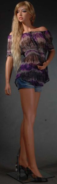 Fiberglass Tan Skin Female Mannequin MM-LISA10 SALE